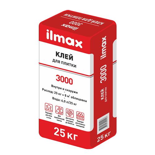 Клей для плитки ILMAX 3000