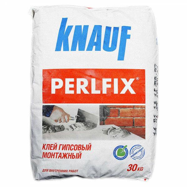 """Клей гипсовый """"KNAUF PERLFIX"""" 30 кг"""